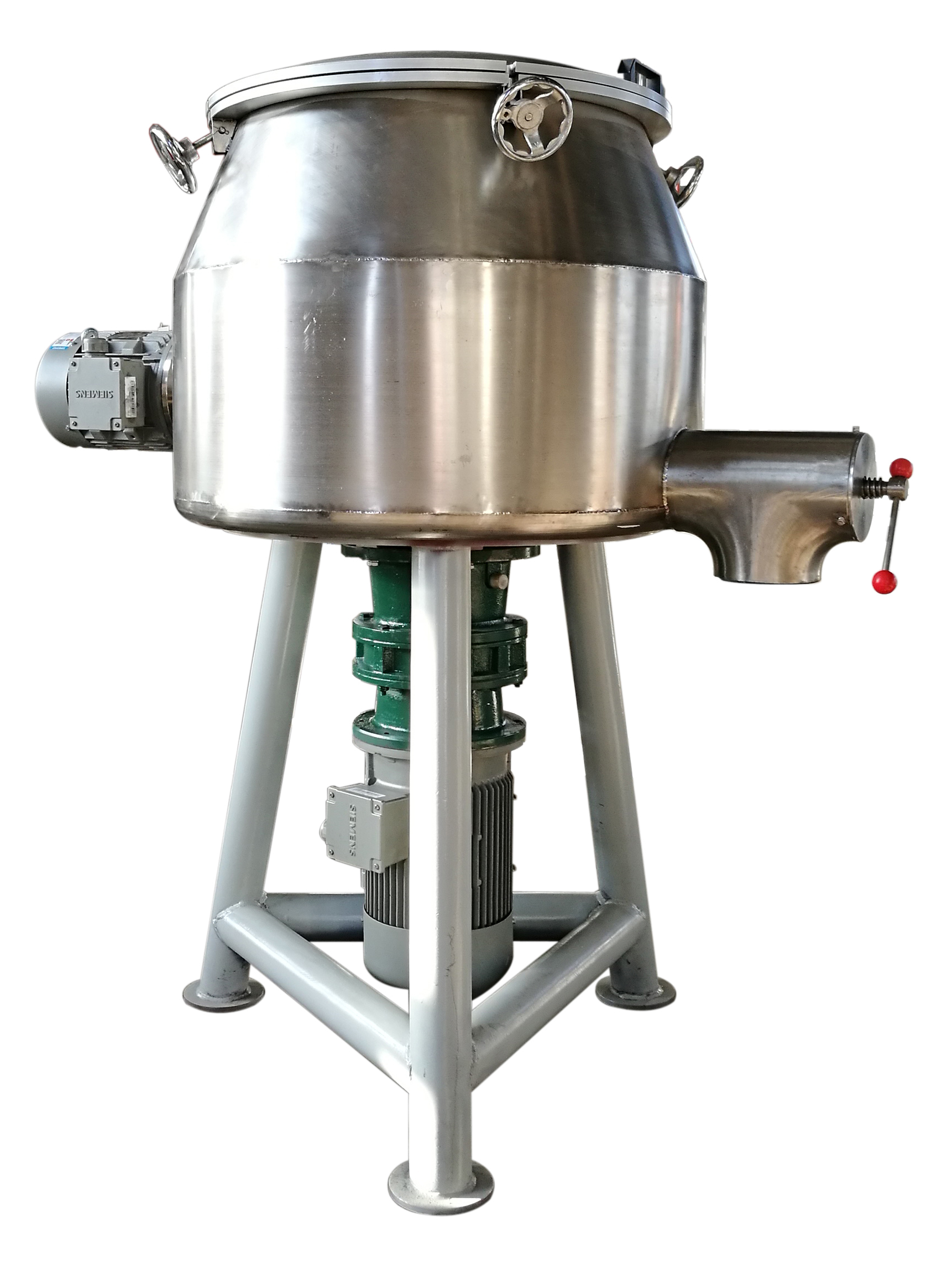Vertical Powder Coating Powder Coating High Speed Mixer