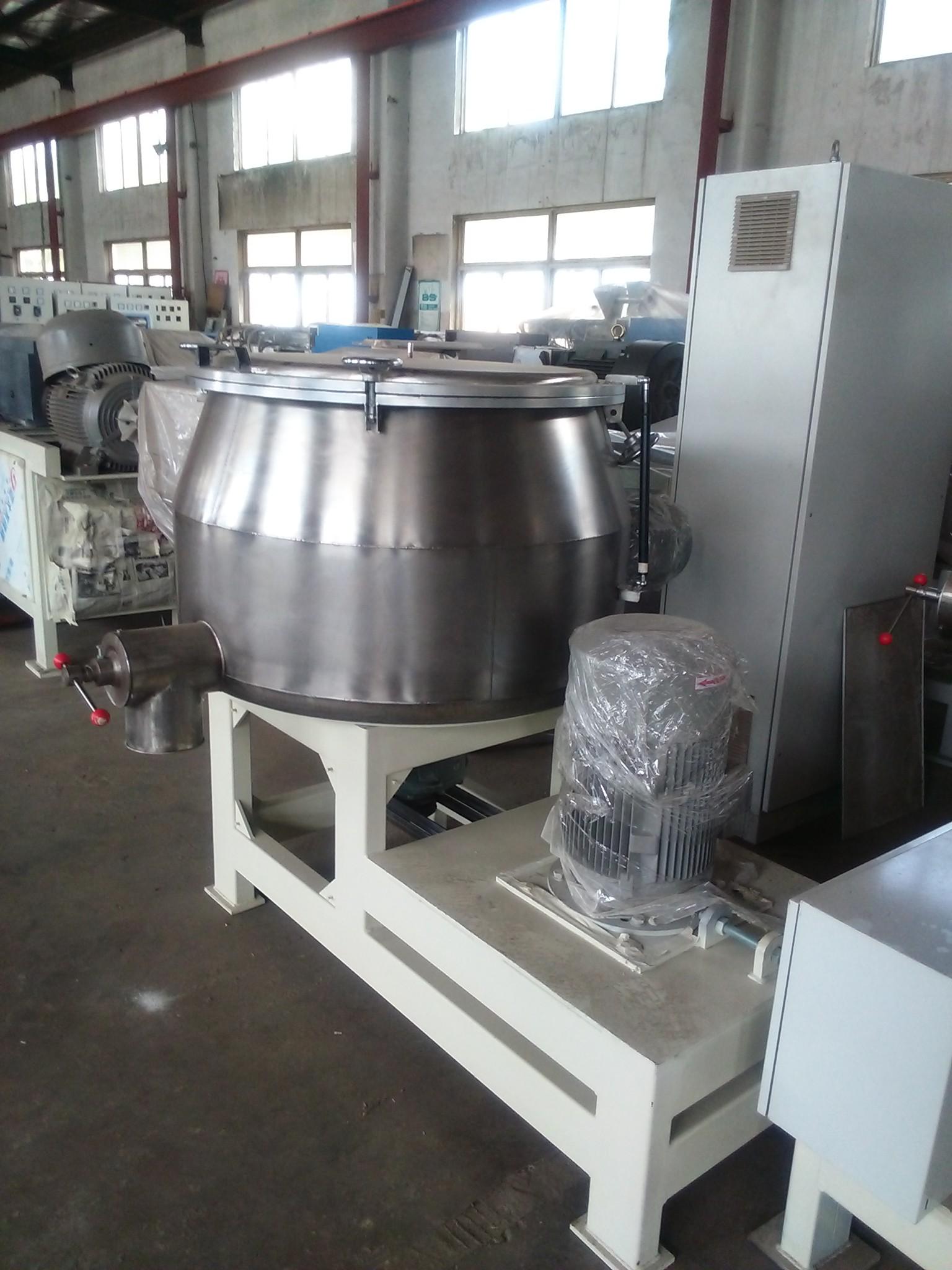 Horizontal Powder Coating Powder Coating High Speed Mixer
