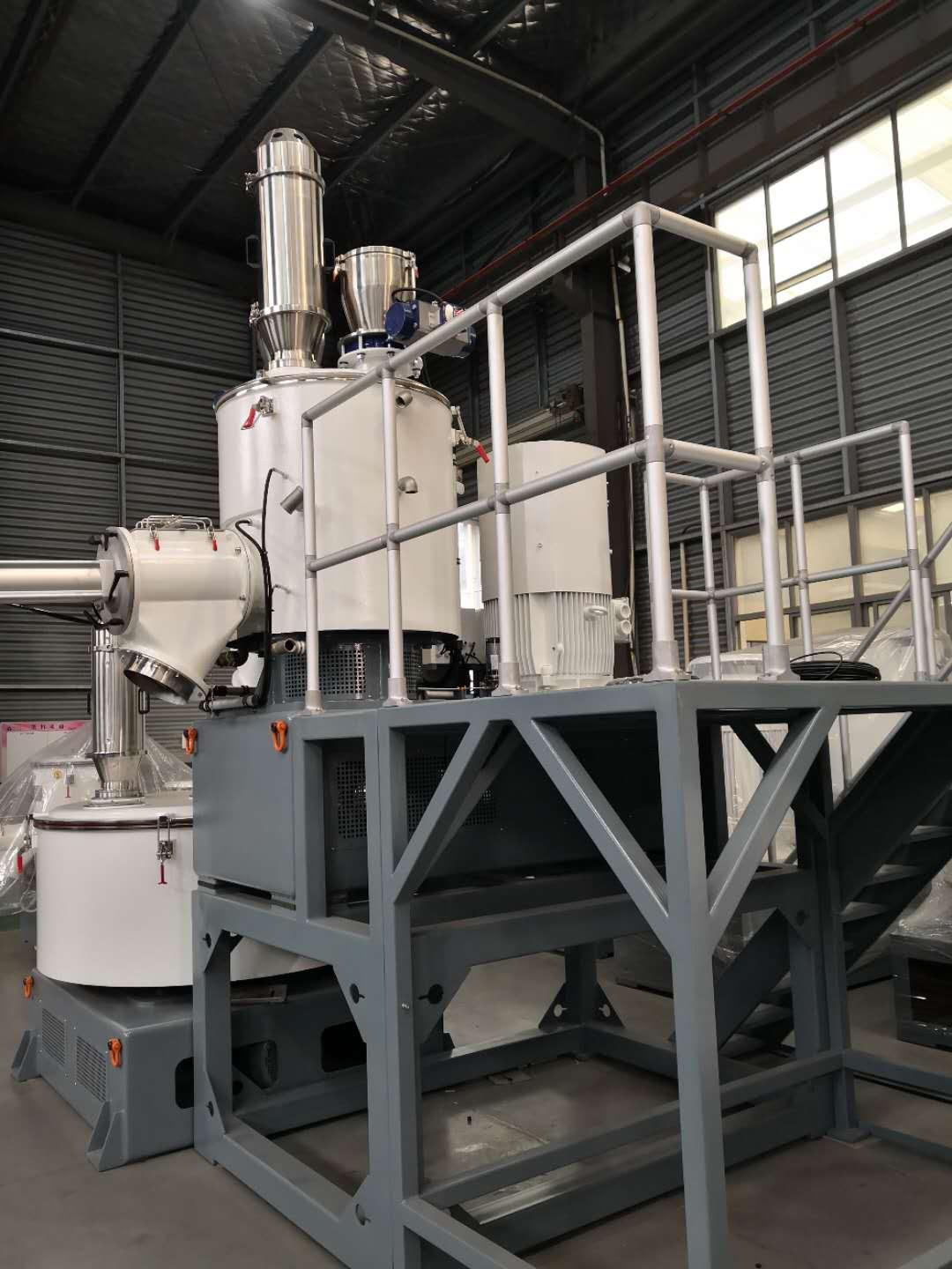 Bonding Pneumatic Electrostatic Powder Container Mixer