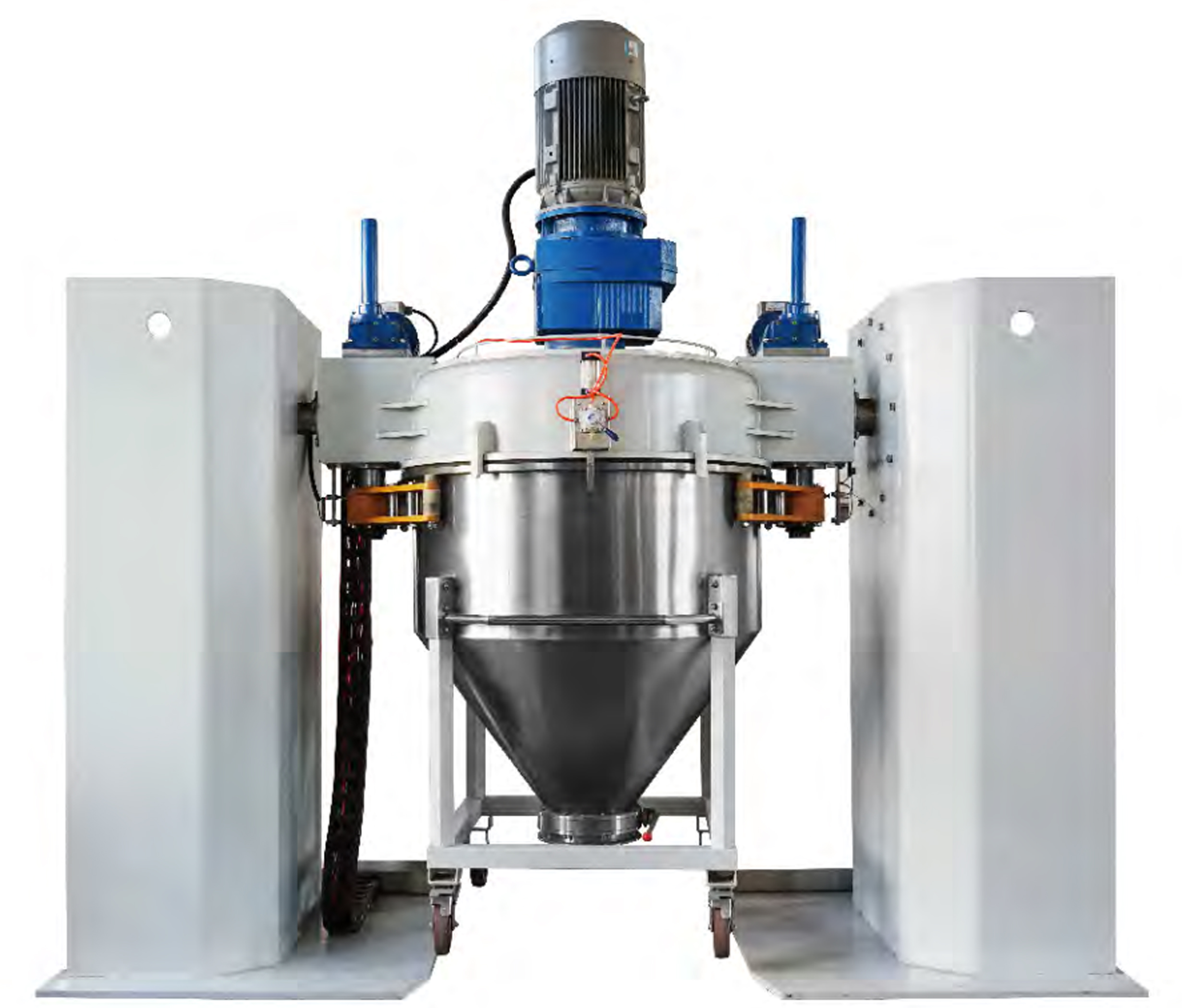 Pneumatic Vacuum Electrostatic Powder Container Mixer