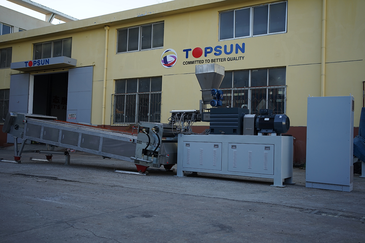 Single Screw Compound Food Processing Twin Screw Extruder