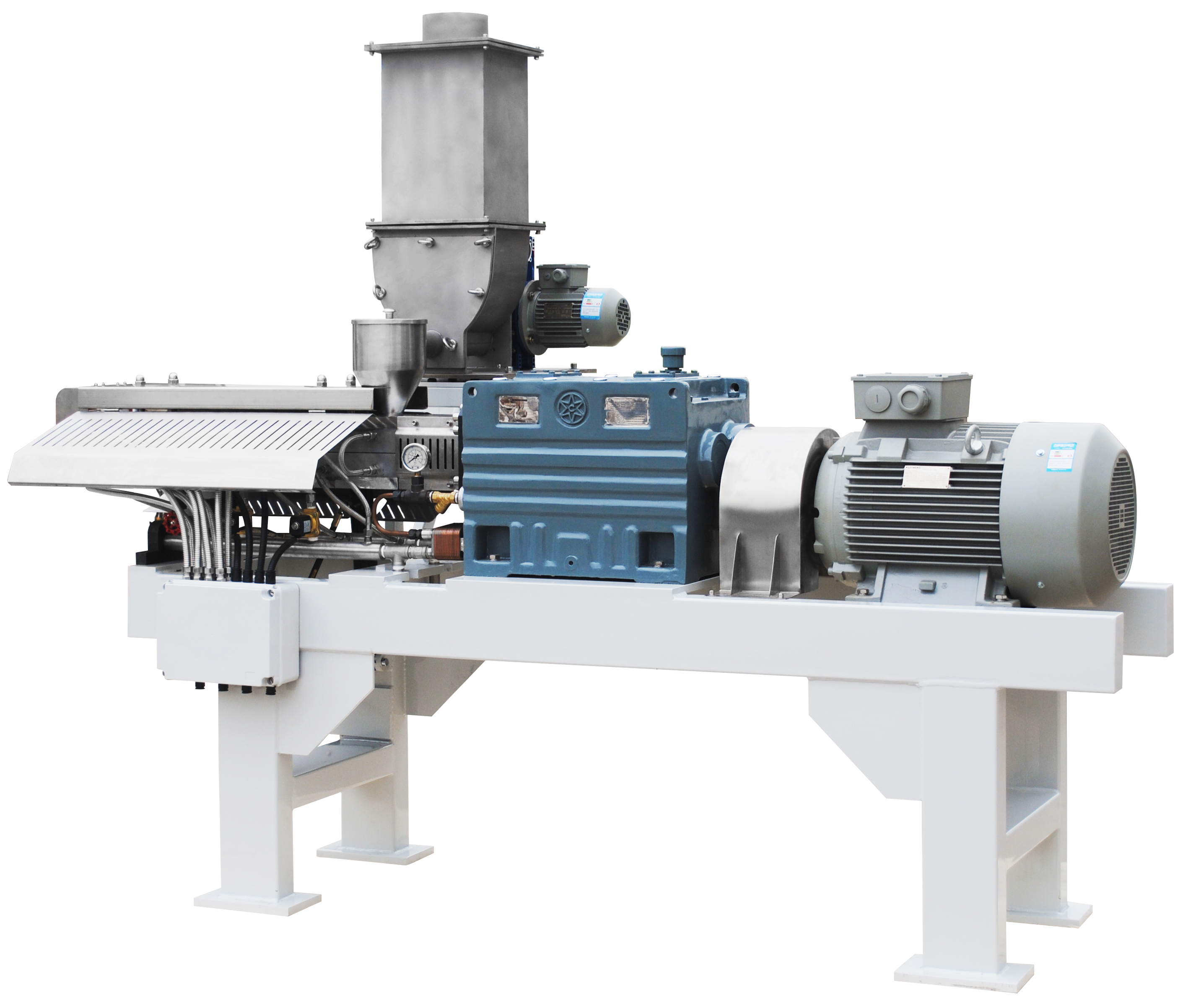 Side Feeder Compound Food Processing Twin Screw Extruder