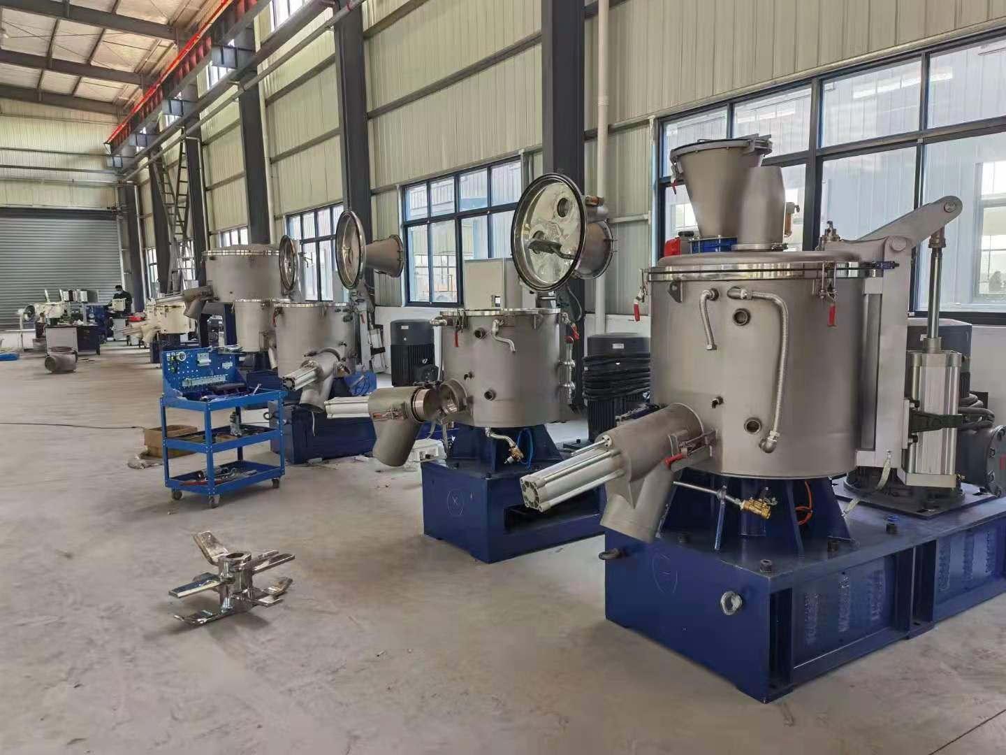 Explosion Resistant Pneumatic High Speed Bonding Mixer