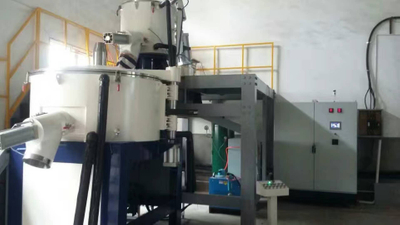 Explosion Resistant 2 Dimensional High Speed Bonding Mixer